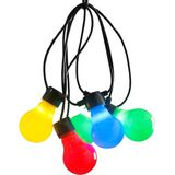 LED Tuinverlichting multicolor - 80 LED's - Konstsmide - Tuin - Buitenverlichting - Snoerverlichting - - 7318302388522 - DS38852 *-*