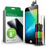 iphone 8 plus display zwart complete set