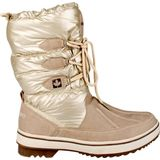 Winter Grip Snowboots Lace Up Taupe Dames