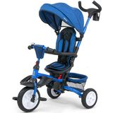 Milly Mally buggy/driewieler Stanley 109 cm polyester navy/zwart