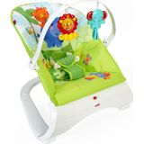 Fisher-Price wipstoel Rainforest Friends 53,5x61,5 cm groen/wit