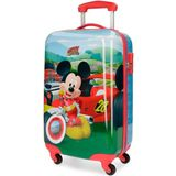 Disney trolley Mickey Mouse blauw/rood 33 liter