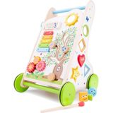 New Classic Toys activiteiten loopwagen 32 x 32 x 49 cm hout