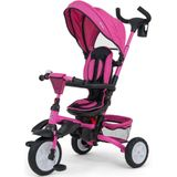 Milly Mally buggy/driewieler Stanley 109 cm polyester roze/zwart