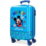 Disney koffer Mickey Mouse junior 32 liter ABS blauw