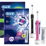Oral-B PRO 650 Black and Beauty DUOPACK