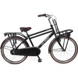 Altec Dutch Jongens Transportfiets 3V 24 inch - Zwart
