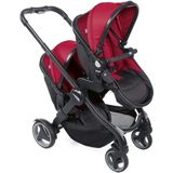 Chicco buggy Double Stroller 108 cm polyster/aluminium rood
