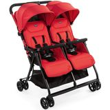 Chicco buggy Double Buggy Ohlalà Twin junior 100 cm rood