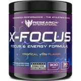 Research Pre Workout - X-Focus - Tropical Vibe - 300gr