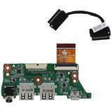 HP Laptop USB/Audio PCB Board + Kabel voor HP ChromeBook 11-2xxxxx G2