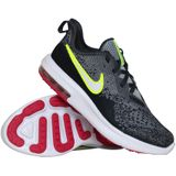 Nike Air Max Sequent 4 (GS) sneakers jongens antraciet/lime