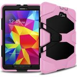 Survivor Tough Shockproof Full Body case hoesje roze Samsung Galaxy Tab A 9.7 Inch T550 T555