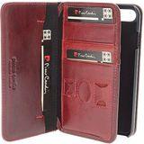 iPhone 7/8 - Pierre Cardin Boekmodel rood hoesje