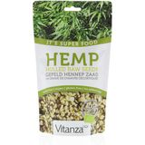 Vitanza HQ Super Food Hemp Hulled Raw Seeds Zaden 200gr