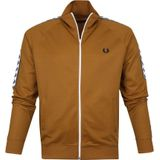 Fred Perry Taped Track Jacket Bruin