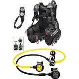Cressi Start Pro Scuba Set INT - Duikset - B.C.D. Start Pro + 1st Stage MC9 + 2nd Stage Compact + Octopus Compact Console 2 Instrument