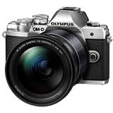 Olympus OM-D E-M10 Mark III MILC 16,1 MP Live MOS 4/3 inch zwart, zilver - digitale camera (16,1 MP, 4/3 inch, Live MOS, 4K Ultra HD, touchscreen, zwart, zilver)