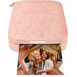 HP Sprocket Portable 2x3 inch Instant Photo Printer (Roze) Print foto's op Zink Sticky-Backed vanaf uw iOS & Android-apparaat