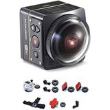 Kodak SP360 4K Aqua Pixpro Action Camera Aqua Sport Pack zwart