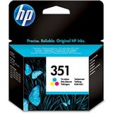 HP 351 TRI-COLOR INKJET PRINTCARTRIDGE BLISTER