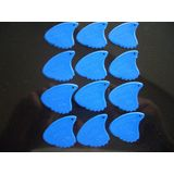 Sharkfin GP10H harde plectrums (25-pack) blauw