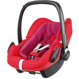 Maxi-Cosi Pebble Plus Autozitje voor baby's groep 0+, ISOFIX-kinderzitje, i-Size, 0-12 m, 0-13 kg, 45-75 cm Babyschaal rood (Red Orchid)