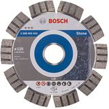 Bosch Professional Diamantdoorslijpschijf Best voor Stone 125 x 22,23 x 2,2 x 12 mm