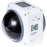 Kodak Pixpro Action Camera 4KVR360 Ulitimate Pack - wit