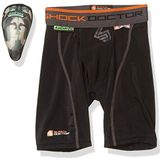 Shock Doctor AirCore Hard Cup Compression Shorts voor heren