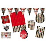 Folat 00227 - Kinderpartyset, Red Pirate