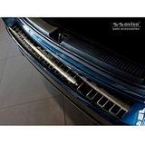 Avisa 2/45203 bumperbescherming achter roestvrij staal zwart Mercedes B-Klasse W247 2018- 'Ribs'