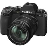 FUJIFILM X-S10 systeemcamera incl. XF18-55mmF2.8-4 R LM OIS lens, zwart