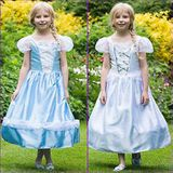 Amscan Dress Up PRBR9 Prinses/Bruid Omkeerbaar 2 in 1-9-11 Dress Up, Meisjes, 9-11 jaar