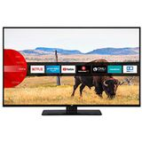 JVC LT-43V55LFA LED-Televisie, 109 cm (43 inch), (Full HD, Triple-Tuner, Smart Tv, Prime Video, Bluetooth), Zwart