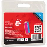 5 Star inktcartridge compatibel met HP No.364 voor CB319EE inktcartridge - Magenta