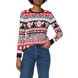 British Christmas Jumpers Dames Comic Wave Eco Kerst Trui Trui Trui