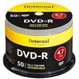 Intenso DVD-R 16x Speed 50er Spindel DVD-lege