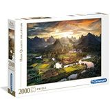 """Clementoni 32564"""" Tal in China Puzzel 2000 stukjes-High Quality Collection"""