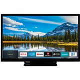 Toshiba 24W2963DAX televisie (Full HD, Smart TV, Triple-Tuner, Prime Video, Bluetooth, Works with Alexa) 24 inch [Energieklasse A+]