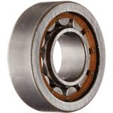 SKF NU 202 ECP radiale rollager, cilindervorm, 15 ID, staal