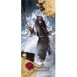 AG Design FTDv 0270 Pirates of the Caribbean Disney, papieren fotobehang kinderkamer - 90x202 cm - 1 stuk, papier, multicolor, 0,1 x 90 x 202 cm