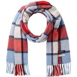 Scotch & Soda Classic Woven Check Scarf voor heren, wol-blend kwaliteit sjaal