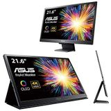 """Asus 90Lm047E-B01370 Proart Pq22Uc 4K Hdr Oled Professional Portable Monitor, 21.6-"""", 4K, Oled, 99% Dci-P3, 0.1Ms Response Time, Hdr-10, Hlg, Dolby Vision, E<2, Hardware Calibration"""