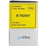 1 Go Inks Geel Laser Toner Cartridge ter vervanging van Brother TN245Y Compatible/non-OEM voor Brother DCP, MFC en HL Printers
