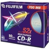 Fuji Magnetics CD-R CD-lege 700MB 52x Slim Case 10-pack