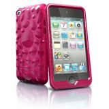 iSkin TCVBP4-PK3 Pebble TPU Jelly Case voor iPod Touch 4G - Roze