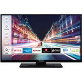 Techwood H32T52C 81 Cm (32 Inch) Televisie (Hd-Ready, Triple-Tuner, Smart Tv, Prime Video, Works With Alexa), Zwart