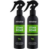 animology Stink bomb spray, 2 stuks