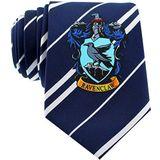 CINEREPLICAS - Harry Potter - Unisex stropdas - Nauwkeurige replica - Officieel gelicentieerd - Ravenclaw - Eenheidsmaat - 100% microvezel - Blauw en grijs